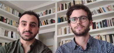 Francesc Bas-Cutrina i Oriol Mirallas en la Jornada d'Orientació als futurs MIR.
